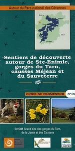 Sentiers de découverte autour de Ste-Enimie, gorges du Tarn, causses Méjean et du Sauveterre -  Parc national des Cévennes | Showmesound.org