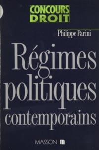 Parini - Régimes politiques contemporains.