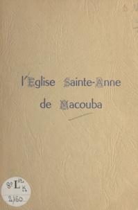 Paroisse Sainte-Anne - L'église Sainte-Anne de Macouba (Martinique).