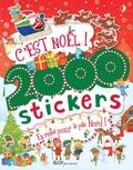 Parragon Books - C'est Noël ! 2 000 stickers - En route pour le pôle Nord !.