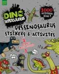 Parragon Books - Dessinosaurus, stickers et activités - 1000 stickers dino !.