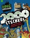 Parragon Books - Dino Supersaurus 2000 stickers - Album d'activités terriblement drôles !.