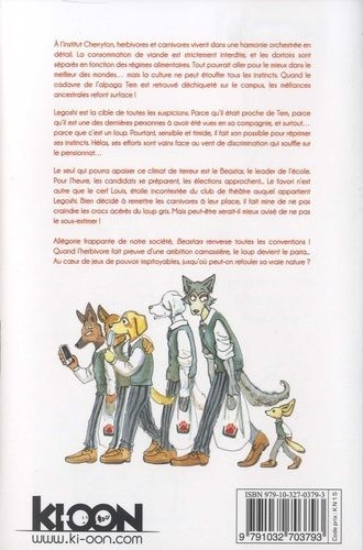 Beastars Tome 1