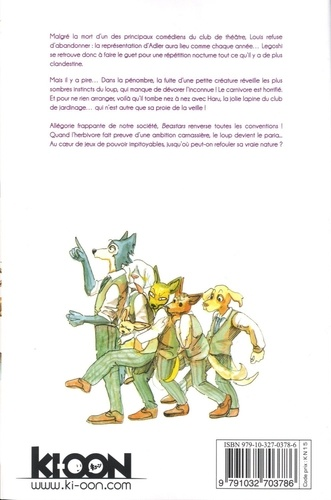 Beastars Tome 2