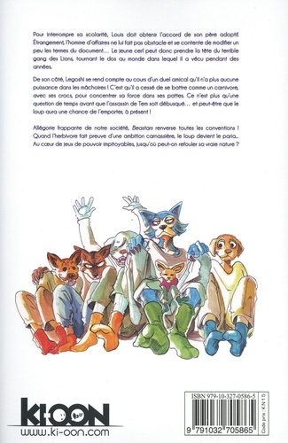 Beastars Tome 9