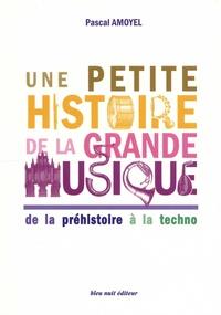 Pascal Amoyel - Une petite histoire de la grande musique - De la préhistoire à la techno.