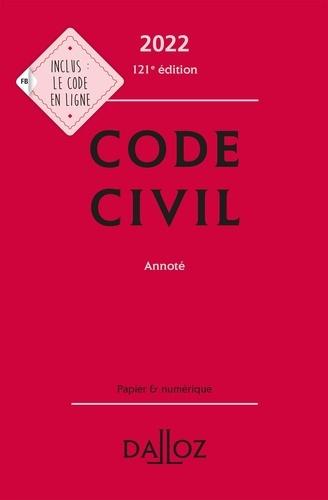 Pascal Ancel - Code civil annoté.
