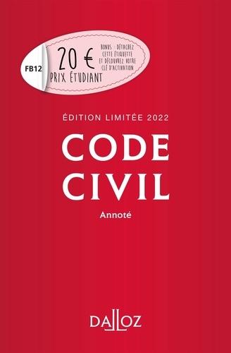 Pascal Ancel - Code civil annoté - Edition limitée.