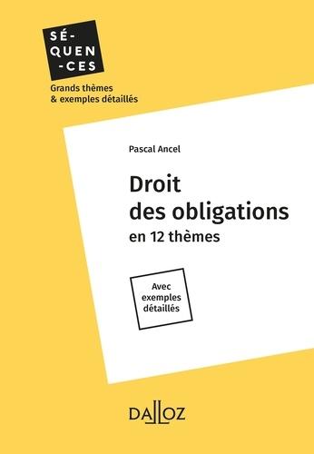 Droit des obligations  Edition 2018