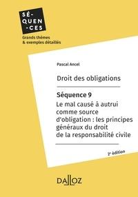 Pascal Ancel - Droit des obligations. Séquence 9 - Le mal causé à autrui comme source d'obligation.
