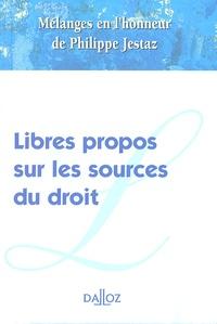Pascal Ancel et Jean-Luc Aubert - Libres propos sur les sources du droit - Mélanges en l'honneur de Philippe Jestaz.