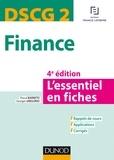 Pascal Barneto - DSCG 2 - Finance - 4e éd. - L'essentiel en fiches - L'essentiel en fiches.