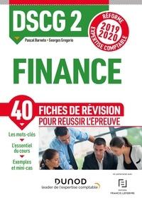 Pascal Barneto et Georges Gregorio - DSCG 2 Finance - Fiches de révision - Réforme Expertise comptable 2019-2020.
