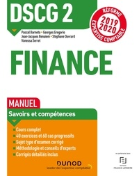 Pascal Barneto et Georges Gregorio - DSCG 2 Finance - Manuel - Réforme Expertise comptable 2019-2020.