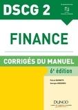 Pascal Barneto et Georges Gregorio - Finance DSCG 2 - Corrigés du manuel.