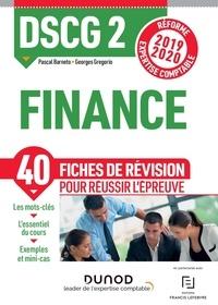 Pascal Barneto et Georges Gregorio - Finance DSCG 2 - Fiches de révision.