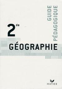 Pascal Baud et Annette Ciattoni - Géographie 2e - Livre du professeur.