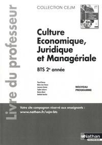 Histoiresdenlire.be Culture économique, juridique et managériale BTS 2e année CEJM - Livre du professeur Image