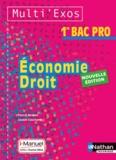 Pascal Besson et Louise Cauchard - Economie droit 1re BAC PRO.