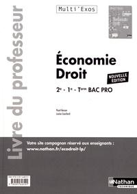 Economie-Droit 2de-1re-Tle Bac Pro MultiExos - Livre du professeur.pdf