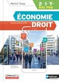 Pascal Besson et Louise Cauchard - Economie droit 2de, 1re, Tle Bac pro Multi'exos.