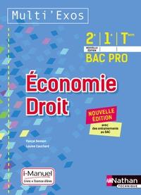 Pascal Besson et Louise Cauchard - Economie Droit 2e, 1re, Term Bac Pro Multi' Exos - i-Manuel.