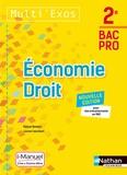 Pascal Besson et Louise Cauchard - Economie-Droit 2e Bac Pro Multi' Exos.