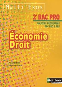 Deedr.fr Economie Droit 2e Bac Pro Image