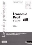 Pascal Besson et Laurence Garnier - Economie Droit 2e Bac Pro - Livre du professeur.
