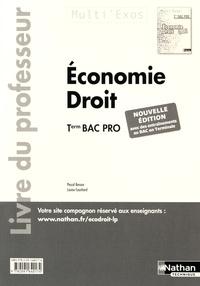 Pascal Besson et Louise Cauchard - Economie Droit Tle Bac Pro - Livre du professeur.
