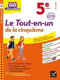 Pascal Bihouée et Corinne Touati - Le tout-en-un de la cinquième - 5e, cycle 4.
