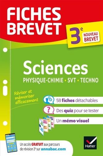 Sciences Physique-Chimie, SVT, Techno 3e  Edition 2020