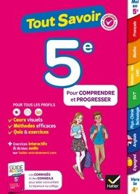 Pascal Bihouée et Marjorie Champetier - Tout savoir 5e - Tout en un - cours, méthodes et exercices dans toutes les matières.