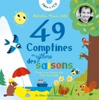 Pascal Boille et Marion Billet - 49 comptines au rythme des saisons. 1 CD audio