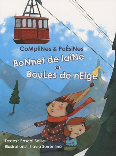 Pascal Boille - Bonnet de laine et boules de neige.