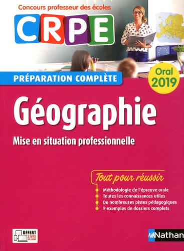 Pascal Bourassin et Jean-Pierre Bourgeois - Géographie - Préparation complète oral CRPE.