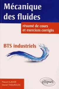 Mécaniques des fluides BTS industriels - Résumé de cours, 87 énoncés tirés des sujets de BTS industriels tous intégralement corrigés en détail.pdf