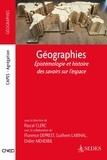 Pascal Clerc - Géographies - Epistemologie et histoire des savoirs sur l'espace.