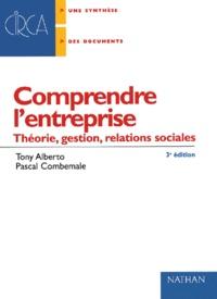 Deedr.fr Comprendre l'entreprise. Théorie, gestion, relations sociales, 3ème édition Image