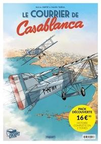 Pascal Davoz et Philippe Tarral - Le courrier de Casablanca  : Pack découverte en 2 volumes : Tome 1, Christina ; Tome 2, Asmaa.