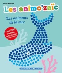 Pascal Debacque - Les animaux de la mer - + de 1 200 pastilles autocollantes repositionnables.