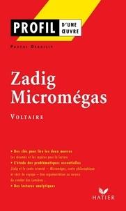 Ebooks gratuits télécharger la littérature anglaise Profil - Voltaire  : Zadig - Micromégas  - Analyse littéraire de l'oeuvre en francais
