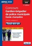 Pascal Delval et Bernadette Lavaud - Concours Gardien de police municipale, garde champêtre externe, catégorie C - Tout-en-un.