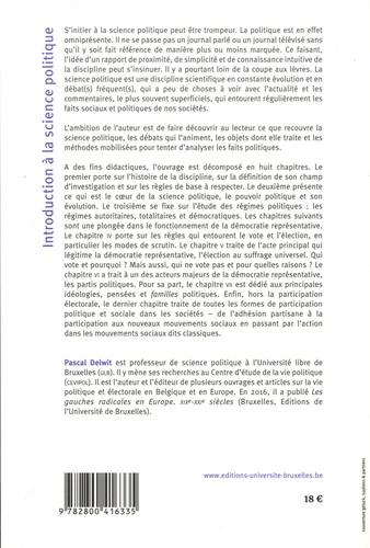 introduction  u00e0 la science politique