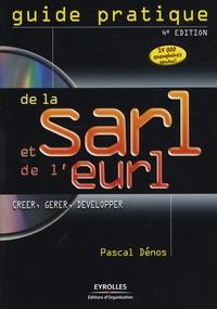 Pascal Dénos - Guide pratique de la SARL et de l'EURL. 1 Cédérom