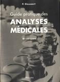Pascal Dieusaert - Guide pratique des analyses médicales.