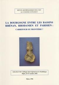 Pascal Duhamel - La Bourgogne entre les bassins rhénan, rhodanien et parisien : carrefour ou frontière ?.