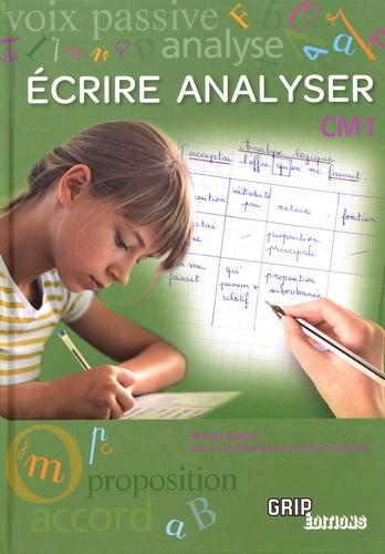 Pascal Dupré - Ecrire Analyser au CM1.