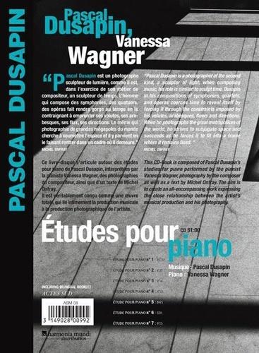 Etudes pour piano  avec 1 CD audio