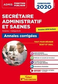 Pascal Eynard et René Guimet - Concours SA et SAENES - Annales corrigées - Catégorie B - Admis - Externe - Concours 2020.